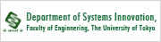 Department of System Innovation, Faculity of Engineering, The University of Tokyo